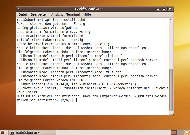 ubuntu-ssh.einrichten