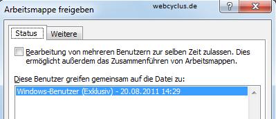 Excel 2010 warum ist mein Blattschutz ausgegraut?