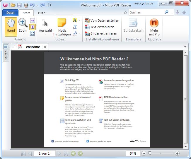 PDF Dokumente bearbeiten