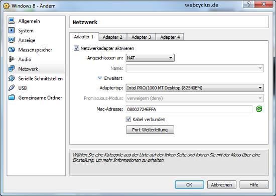 Netzwerk Treiber für Windows 8