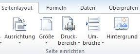 Hintergrundbild in Excel
