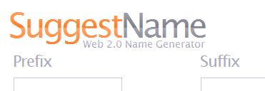 Suggest Name - Kostenloser Namen Generator